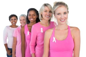 Palm Beach Ultrasound Breast Cancer Screening Women Pink Ribbons